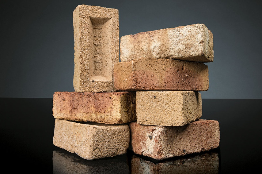Clay bricks that are part of the PGH Sandstocks Timeless collection.