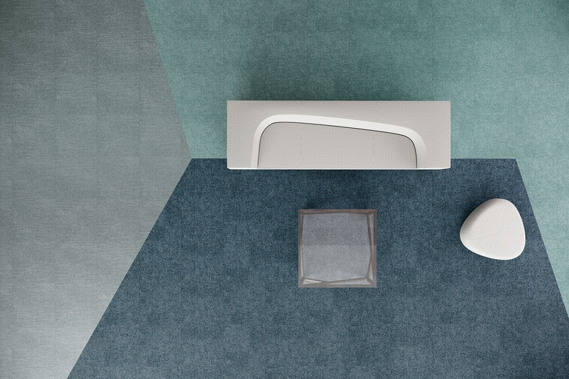 Eco-friendly carpet tiles – Floor