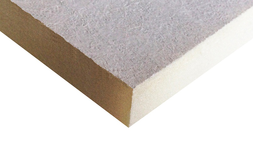 DURASHEATH-3 PIR soffit insulation board.